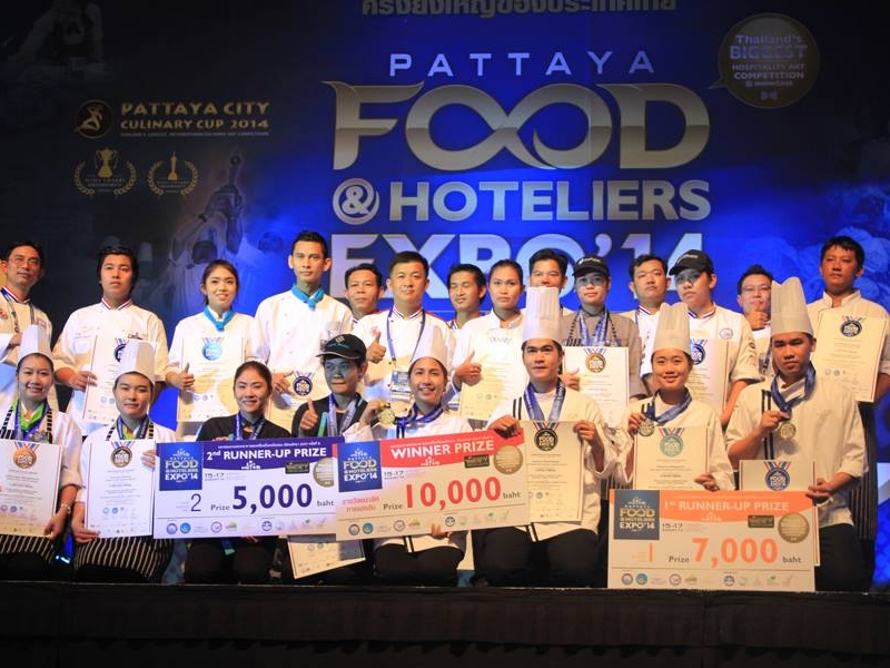 Pattaya Food and Hoteliers Expo 2014